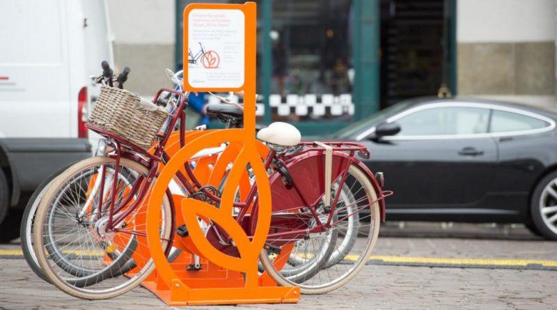 stojaki rowerowe w Bydgoszczy